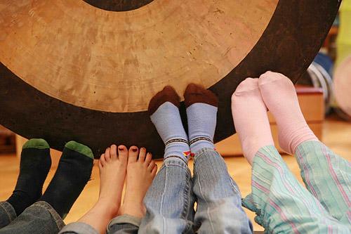 Gong-Klangerlebnis für Kinder in Berlin