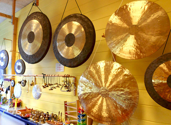 Gongs, Tam Tams in Berlin