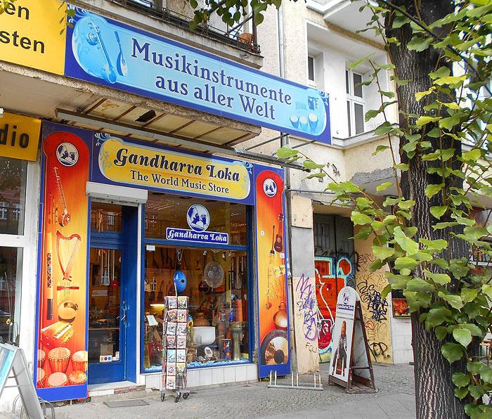 Musikinstrumente aus aller Welt in Berlin