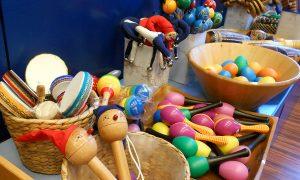 Percussion, Musikinstrumente für Kinder